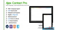 Ajax contact pro multi language html5 form contact bootstrap