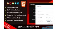 Ajax easy contact form