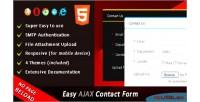 Ajax easy contact form