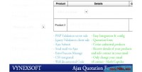 Ajax php quotation form