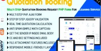 Booking quotation multi step quotation request booking php form ser cleaning for