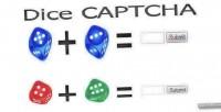 Captcha dice