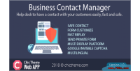 Contact business manager