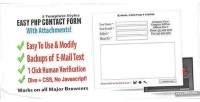 Contact easy attachments with form