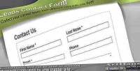Contact leads forms