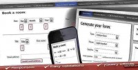 Multiple contact forms generator php ajax