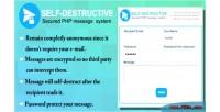 Destruct self e system message mail