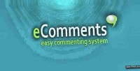 Easy ecomments commenting system