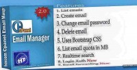 Email cpanel manager