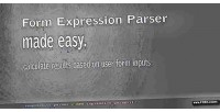 Expression form parser