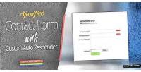 Form contact with responder auto custom