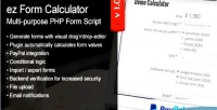 Form ez calculator php