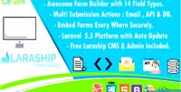 Form laraship builder