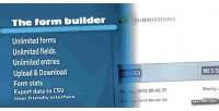Form the saas webapp builder