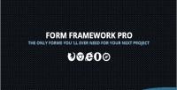 Framework form pro
