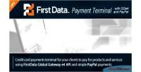 Gge4 firstdata payment terminal
