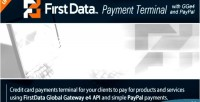 Gge4 firstdata payment terminal