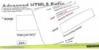 Html5 advanced contact form