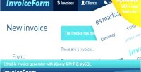 Invoicing invoiceform made easy