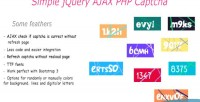 Jquery simple captcha php ajax