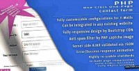 Php one page one form contact class