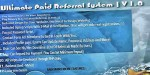 Paid ultimate referral system