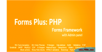 Plus forms framework forms php