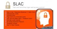 Site slac login control access and