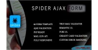 Spider ajax php form validation jquery with