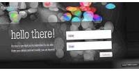 Splash beta page form signup email