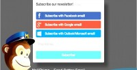Subscribe mailchimp form