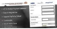 System donation gateways payment multiple
