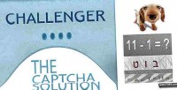 The challenger captcha solution