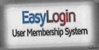 User easylogin membership system