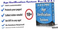 Verification age system pro avs