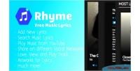 Free rhyme lyrics music complete