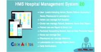 Hospital hms management system