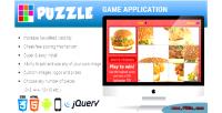 Html5 premium app game puzzle