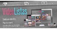 Videolistas a fast creator lists video of