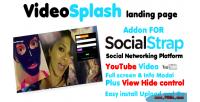 Addon videosplash for socialstrap