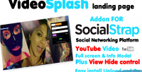Addon videosplash for socialstrap