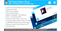 Aio radio station player icecast & shoutcast