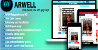 Arwell viral media vine script. gag and