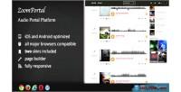 Audio zoomportal portal platform