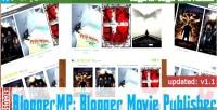 Blogger movie publisher watch maker blog movie