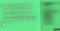 Canvas social