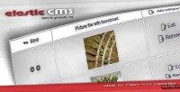 Elastic cms solution for websites xml flash