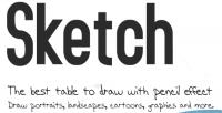 Draw sketch a simple