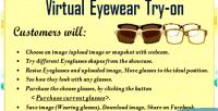 Eyewear virtual try on