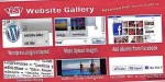 Website gallery with slider support facebook